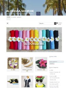 aloohaa.com/shop site top
